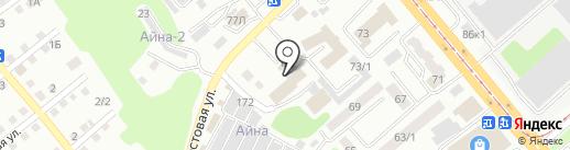 КАЗАХМЫС на карте Усть-Каменогорска