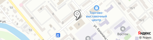 Казмебельпром на карте Усть-Каменогорска