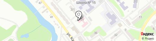 Центр Здоровья на карте Усть-Каменогорска
