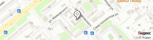 ТехАвто на карте Усть-Каменогорска