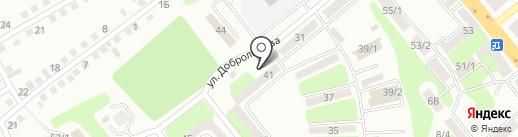 Участковый пункт полиции №12 на карте Усть-Каменогорска