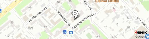Почтовое отделение №10 на карте Усть-Каменогорска