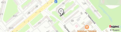 Служба услуг электрика на карте Усть-Каменогорска