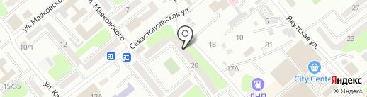 Выездная студия фотографии Сергея Пономаренко на карте Усть-Каменогорска