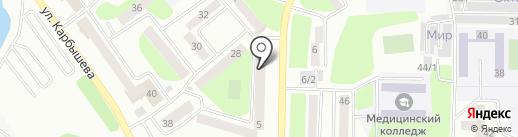 Мыло market на карте Усть-Каменогорска