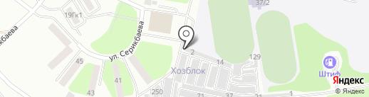 Lucky Car на карте Усть-Каменогорска