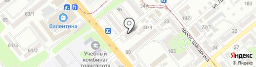 DiVera на карте Усть-Каменогорска