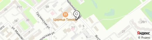 Brown Chalet на карте Усть-Каменогорска