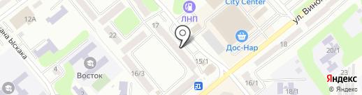 Василиса на карте Усть-Каменогорска
