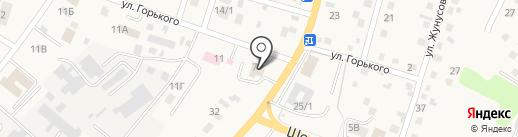 Меновное на карте Усть-Каменогорска