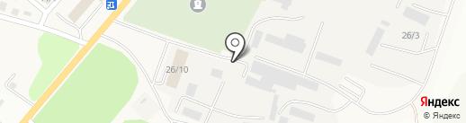 ЮА ТРАНССТРОЙ, ТОО на карте Усть-Каменогорска