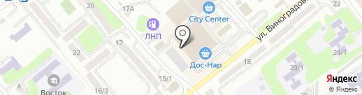 Ювелирный бутик на карте Усть-Каменогорска