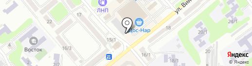 Магазин живых цветов на карте Усть-Каменогорска