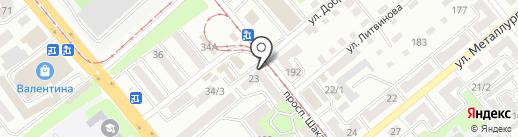 Бухгалтер-Сервис на карте Усть-Каменогорска