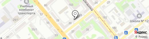 Venta на карте Усть-Каменогорска