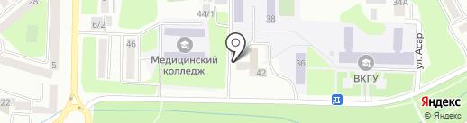 Участковый пункт полиции №15 на карте Усть-Каменогорска