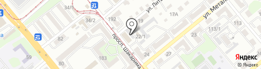 Force на карте Усть-Каменогорска