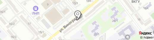 Альтаир-Сервис на карте Усть-Каменогорска