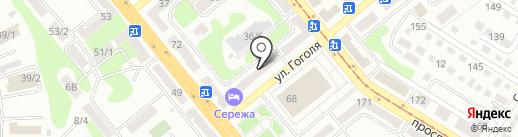 Магазин бытовой химии на карте Усть-Каменогорска