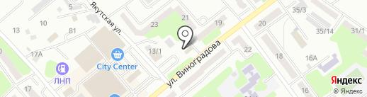 Автоакс.kz на карте Усть-Каменогорска