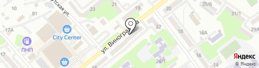 ВЕСТА на карте Усть-Каменогорска