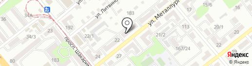 УК ХОЛДИНГСТРОЙ, ТОО на карте Усть-Каменогорска