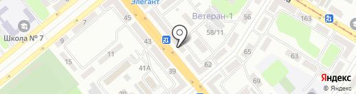 Гол+Пас на карте Усть-Каменогорска