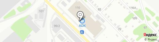 ADK на карте Усть-Каменогорска