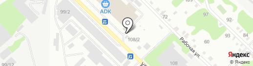 Стильный Дом на карте Усть-Каменогорска