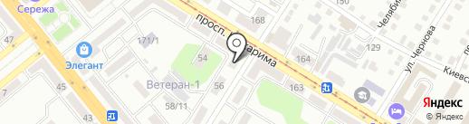Стоматология на квартале на карте Усть-Каменогорска