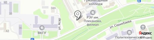Радиобайланыс, ТОО на карте Усть-Каменогорска