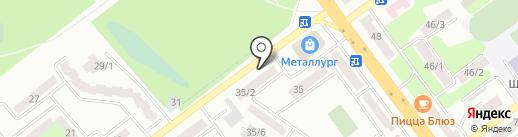 Нотариус Маратова Л.М. на карте Усть-Каменогорска