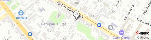 Petronas на карте Усть-Каменогорска