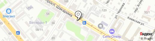 Олта на карте Усть-Каменогорска