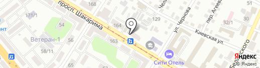 Бухен Хауз на карте Усть-Каменогорска