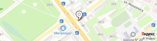 РАФТ-ТУР на карте Усть-Каменогорска