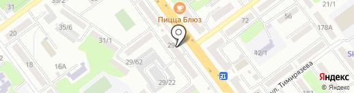Мастерская по ремонту обуви и кожгалантереи на карте Усть-Каменогорска