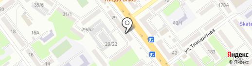 Жеңіс-кредит, ТОО на карте Усть-Каменогорска