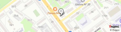 Воротный двор на карте Усть-Каменогорска