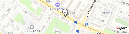 Любимая на карте Усть-Каменогорска