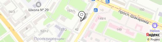 Мини Строй на карте Усть-Каменогорска