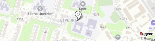 Детская художественная школа на карте Усть-Каменогорска