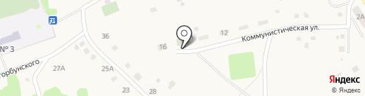 Почтовое отделение на карте Ярково