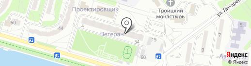 Участковый пункт полиции №8 на карте Усть-Каменогорска
