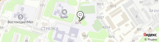 Психолого-медико-педагогическая консультация на карте Усть-Каменогорска
