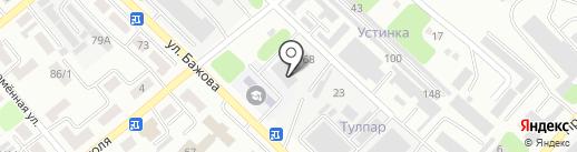 Автоспецсервис на карте Усть-Каменогорска