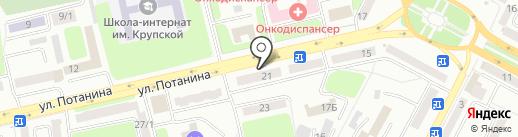 Мастерская по ремонту одежды на карте Усть-Каменогорска