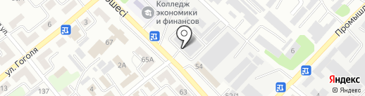 Прачечная на карте Усть-Каменогорска