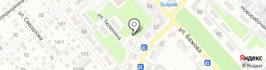 Оникс Восток LTD на карте Усть-Каменогорска