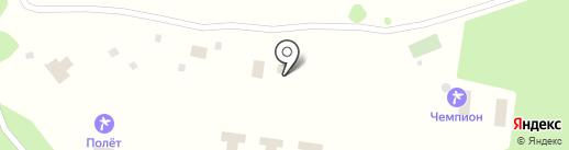 Зеленая улица на карте Борового